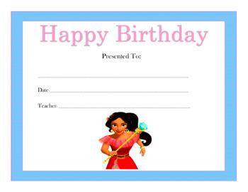 happy birthday certificate teaching resources teachers pay teachers