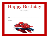 Happy Birthday Certificates Part III (119 Certificates)