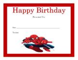 Happy Birthday Certificates Part III (119 Certificates)