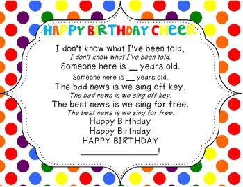 Happy Birthday Cheer Poster