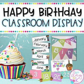 Happy Birthday Classroom Display