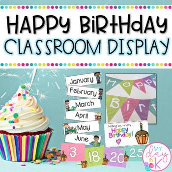 Happy Birthday Classroom Display