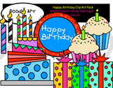 Happy Birthday Clipart Pack