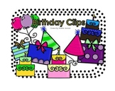 Happy Birthday Clipart (personal and commercial use)