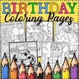 Happy Birthday Coloring Pages | 8 Fun, Creative Designs