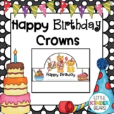 Happy Birthday Crown Headband