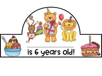 Happy Birthday Crown Headband