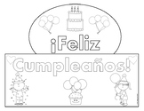Happy Birthday Crown in Spanish!