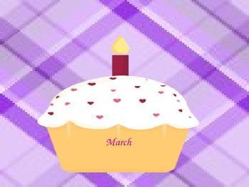 Happy Birthday Cupcake!