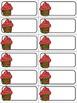 Happy Birthday Cupcakes Mini Bulletin Board Set--- Editable