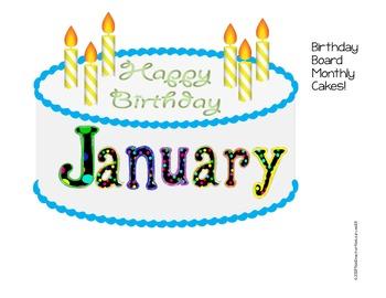 Happy Birthday Display Board! Freebie!