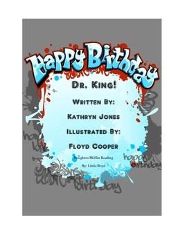 Happy Birthday Dr. King Houghton Mifflin Reading for Black History Month