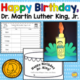 Dr. Martin Luther King, Jr. - Close Reading, Abbreviations, Adjectives & Crafts