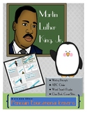 Happy Birthday Dr. King! Work Station Activities