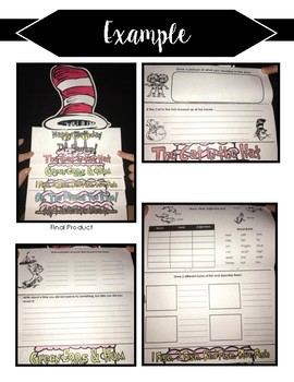 Happy Birthday Dr. Seuss!  Activity Booklet - Multiple Books