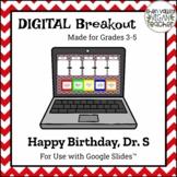 Happy Birthday, Dr. Seuss - Digital Breakout