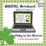 Digital Breakout Escape Room (Google Slides) - St. Patrick