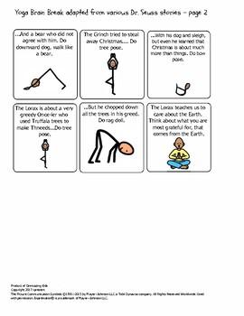 Happy Birthday Dr. Seuss Yoga Brain Break