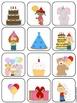 Happy Birthday File Folder Matching Game