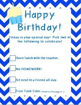 Happy Birthday! From The 2 Teaching Divas