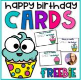 Happy Birthday Gift Tags FREEBIE