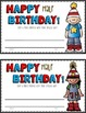 Happy Birthday & Half Birthday Resources