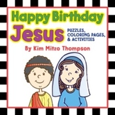 Happy Birthday Jesus Christmas Activity Book