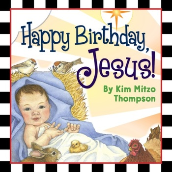 Happy Birthday Jesus Christmas Story & Activity Book (crafts, coloring & more!)
