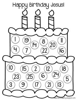 Happy Birthday Jesus Countdown
