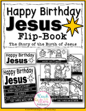 Happy Birthday Jesus – Story of Birth of Jesus Flip-Book