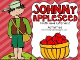 Happy Birthday Johnny Appleseed Math and Literacy Centers