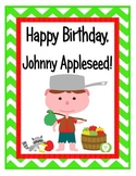 Happy Birthday, Johnny Appleseed! Unit on Celebrating Johnny Appleseed