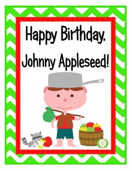 Happy Birthday, Johnny Appleseed! Unit on Celebrating John