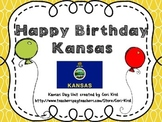 Happy Birthday Kansas! A Kansas Day Celebration