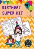 Happy Birthday Kit English Lovely Present