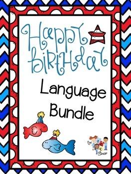 Happy Birthday Language Bundle