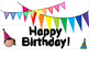 Happy Birthday Light Box Sign - Dual Language