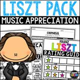 Franz Liszt Composer Listening Activities, October