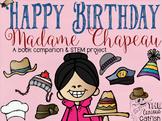 Happy Birthday Madame Chapeau: Book Companion & STEM Challenge