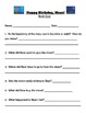 Happy Birthday, Moon!  Guided Reading Packet
