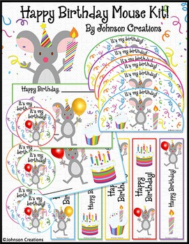 Happy Birthday Mouse Kit!