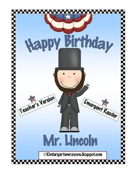 Happy Birthday Mr. Lincoln