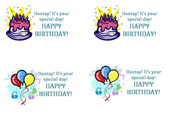 Happy Birthday Notes for Students