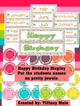 Happy Birthday Owl display