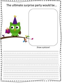 Happy Birthday *Owls* Class Book