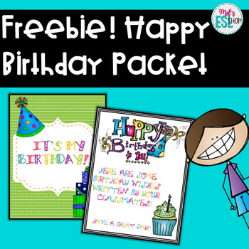 Happy Birthday Packet - Posters