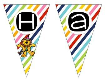 Happy Birthday Pennant Banner!