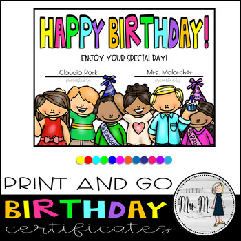 picture relating to Printable Birthday Certificates titled Delighted Birthday Printable Certificates! Editable
