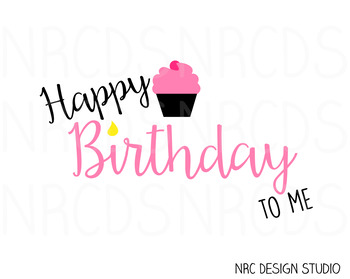 Happy Birthday SVG Cutting File V2 - Commercial Use SVG, DXF, EPS, png