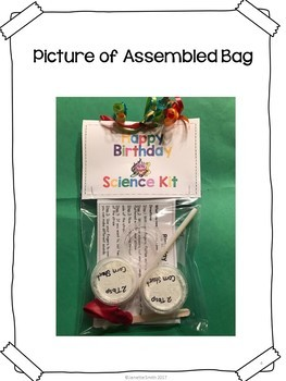 Happy Birthday Science in a Bag
